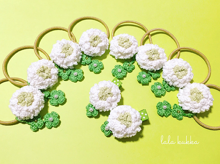 まだまだ春のお花シリーズ🌸新作&再販作品販売いたします!