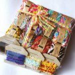 年末にご縁をいただいた作品③Tunney's yarnさんの引き揃え糸満タン福袋