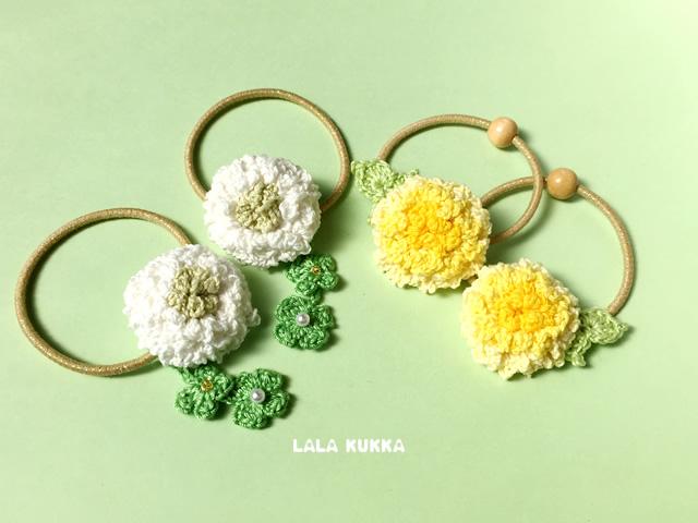 【かぎ針編み】春のお花作品🌼第1弾を販売いたします!