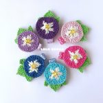 かぎ針編みで作った夏のお花シリーズ第2弾 販売いたします!